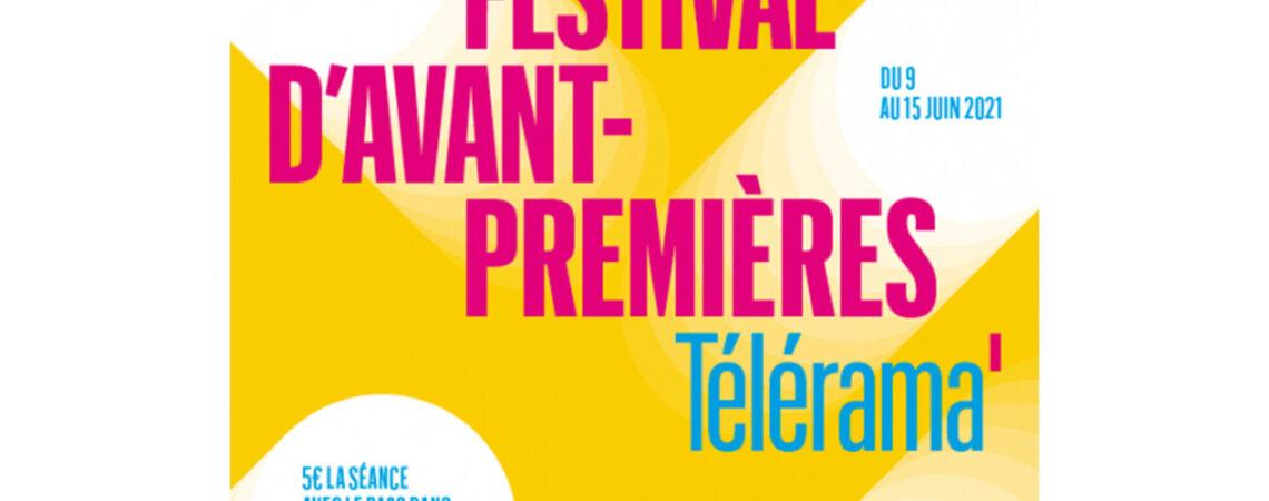 Festival Télérama AFCAE - Avant-premières