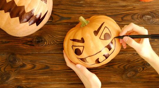 Atelier sur le thème : « Fêtons Halloween »
