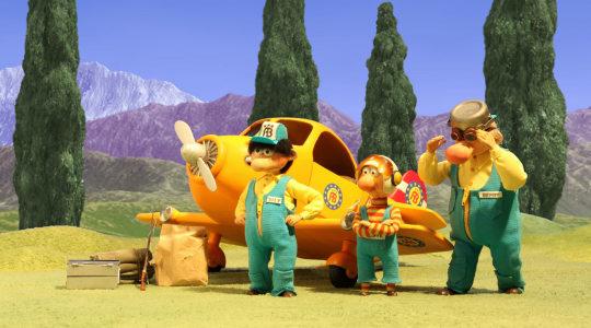 L'équipe de secours, en route pour l'aventure !