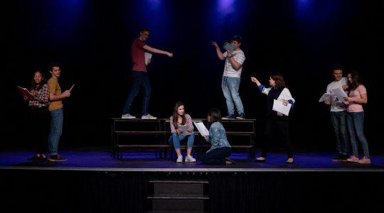 Stage de théâtre bilingue (anglais/français)