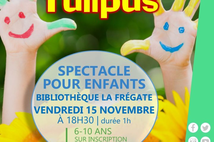 Spectacle « Tournesol et Tulipus »